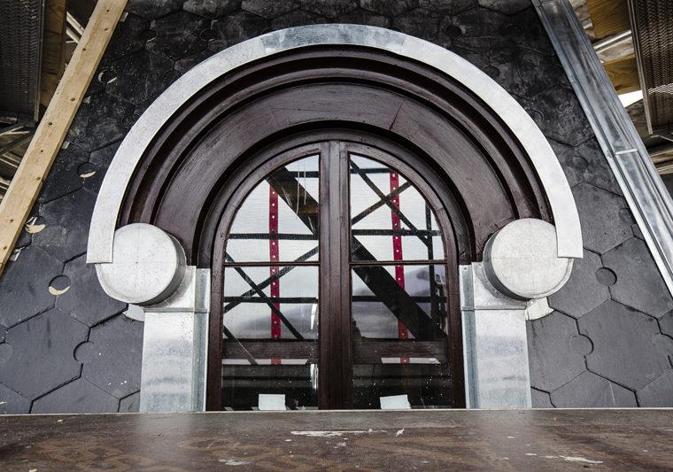Søtorvet København restaurering kobberinddækninger på vinduer i tårn Elgaard Architecture
