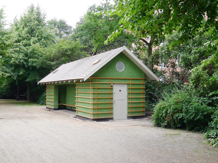 Enghaveparken: Arne Jacobsen's Pavilions