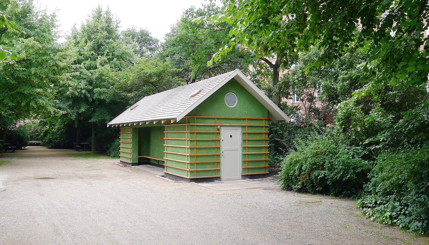 Enghaveparken: Arne Jacobsens pavilloner
