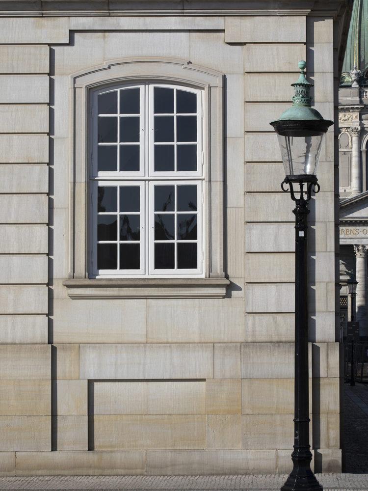 Amalienborg Slot facade detalje Elgaard Architecture
