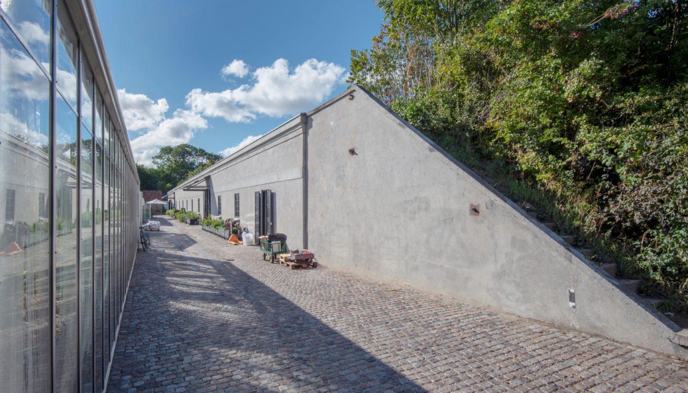 Søminedepotet efter ombygning til NOMA København eksteriør Elgaard Architecture