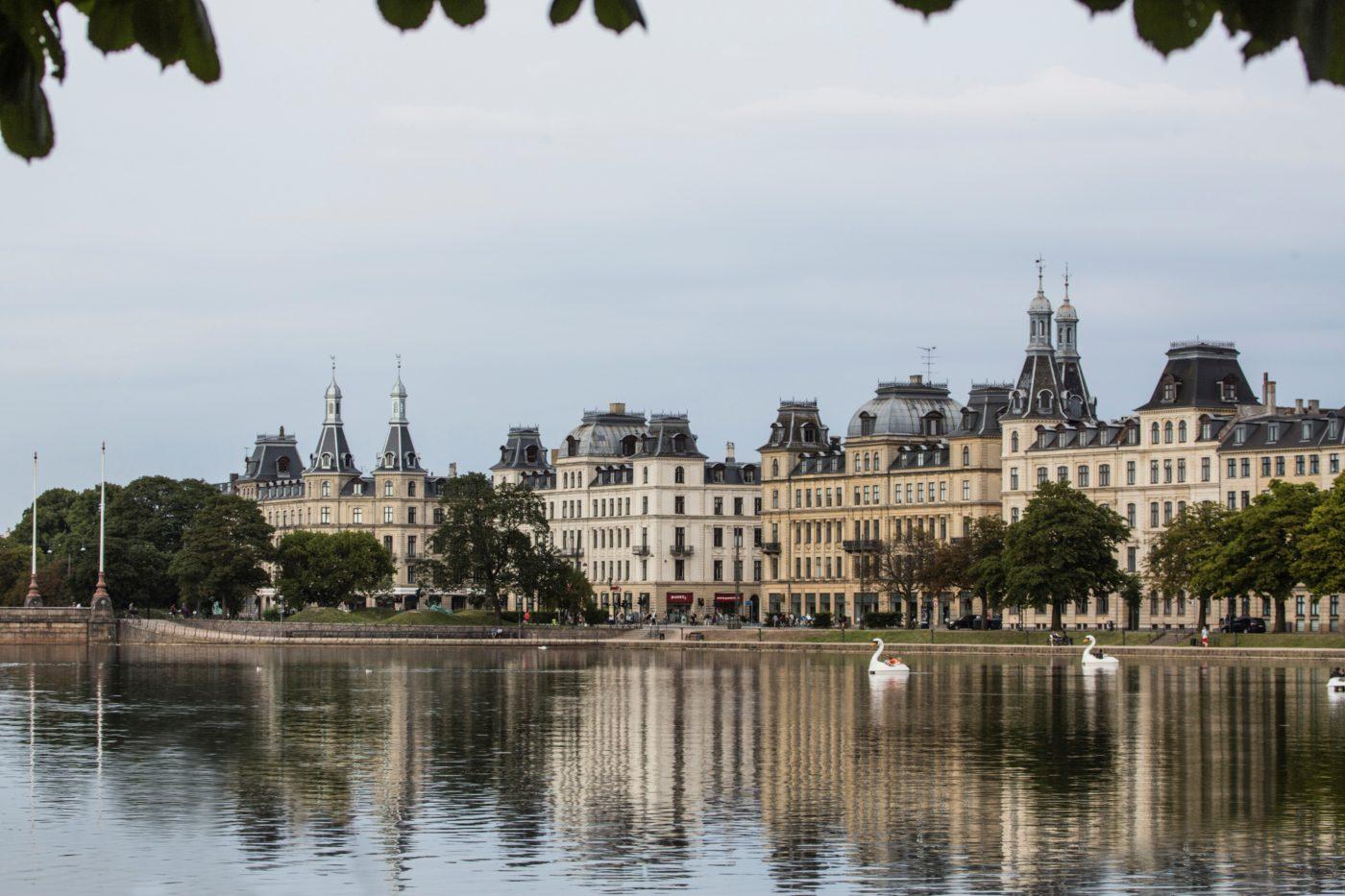 Søtorvet København udsigt over søerne Elgaard Architecture