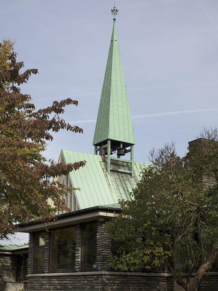 King Haakon's Church exterior bell tower Elgaard Architecture