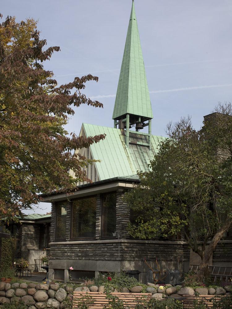 Kong Haakons Kirke København eksteriør Elgaard Architecture