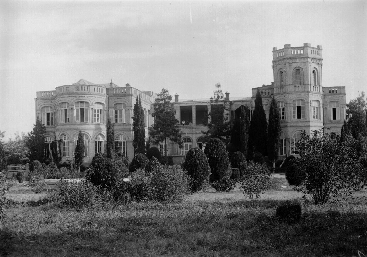 Chateau Mukhrani historisk foto Elgaard Architecture