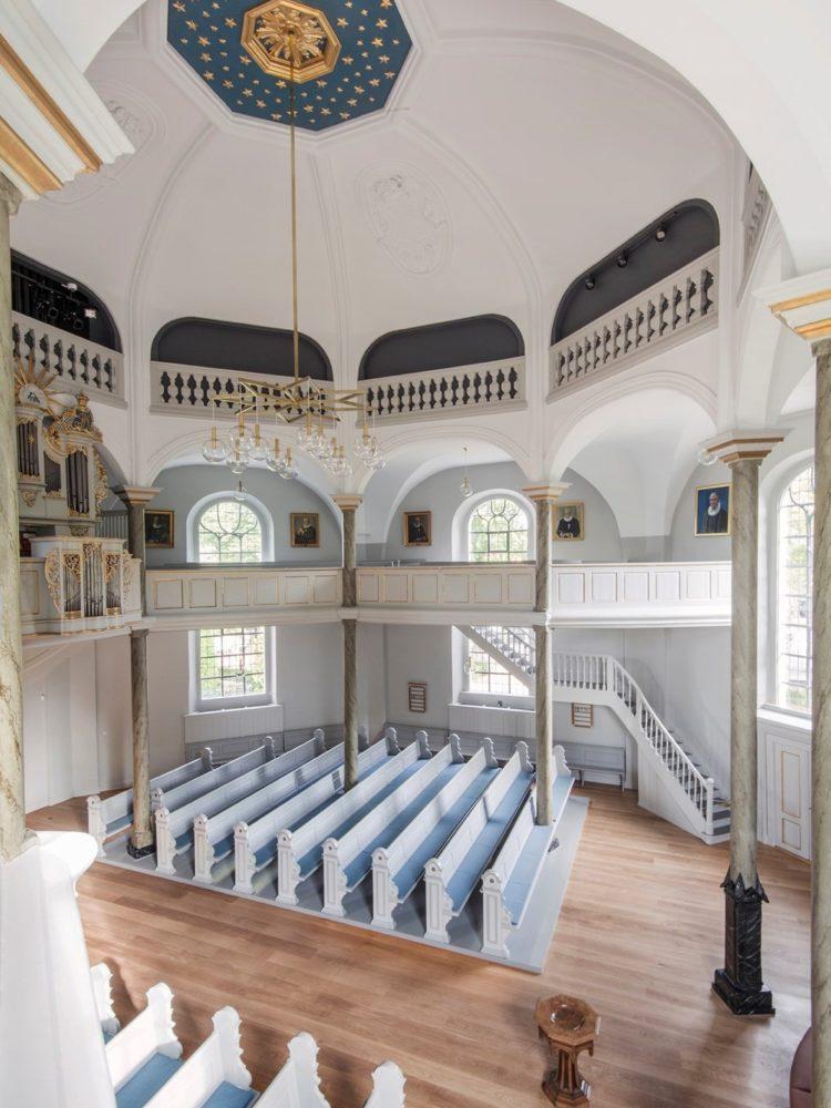 Frederiksberg Kirke interiør