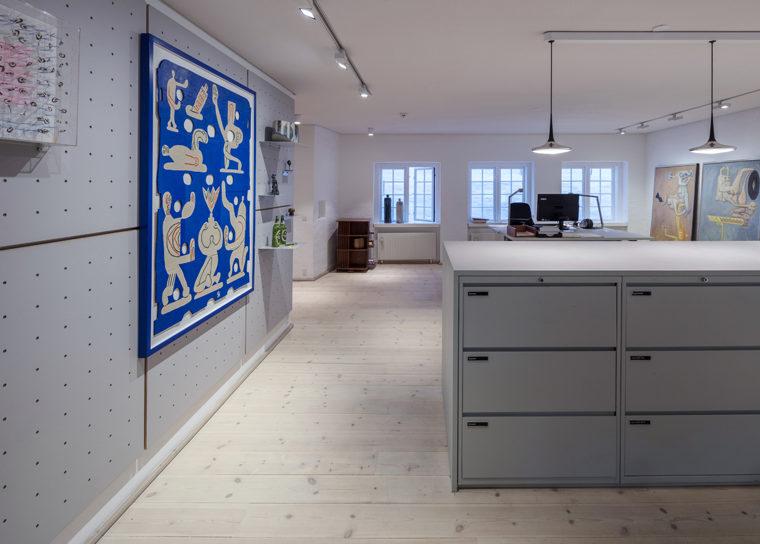 Ny Carlsbergfondet domicil nyindretning Elgaard Architecture