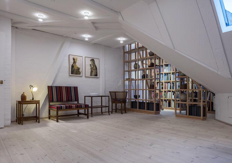 Ny Carlsbergfondet domicil nyindrettet tagetage Elgaard Architecture
