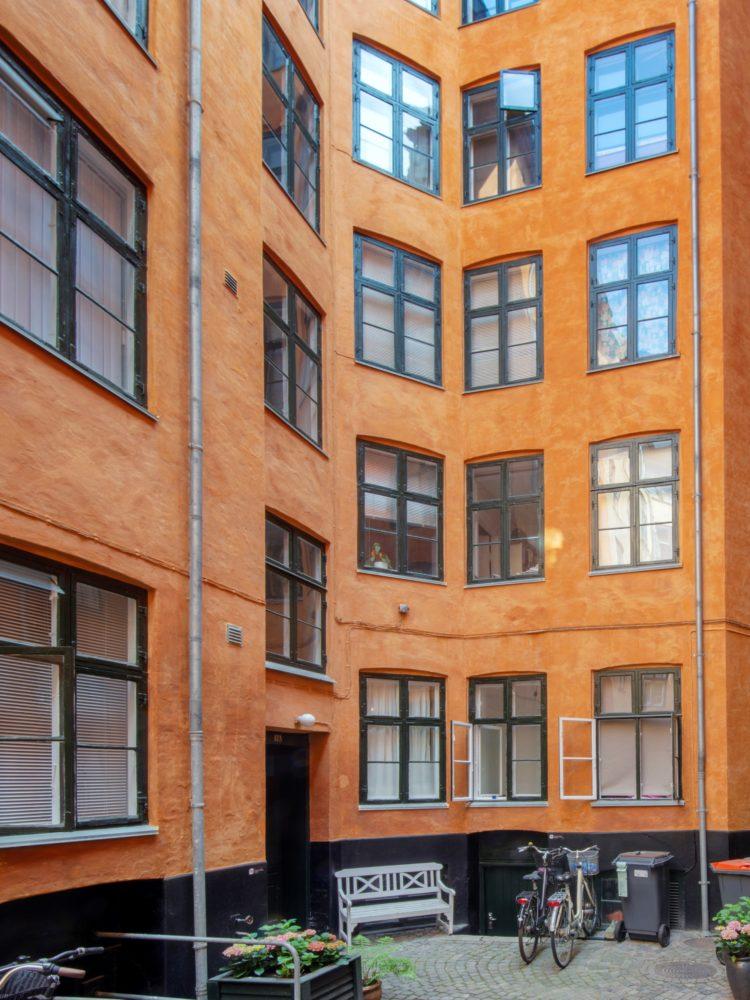Fredericiagade 12 Copenhagen exterior courtyard Elgaard Architecture