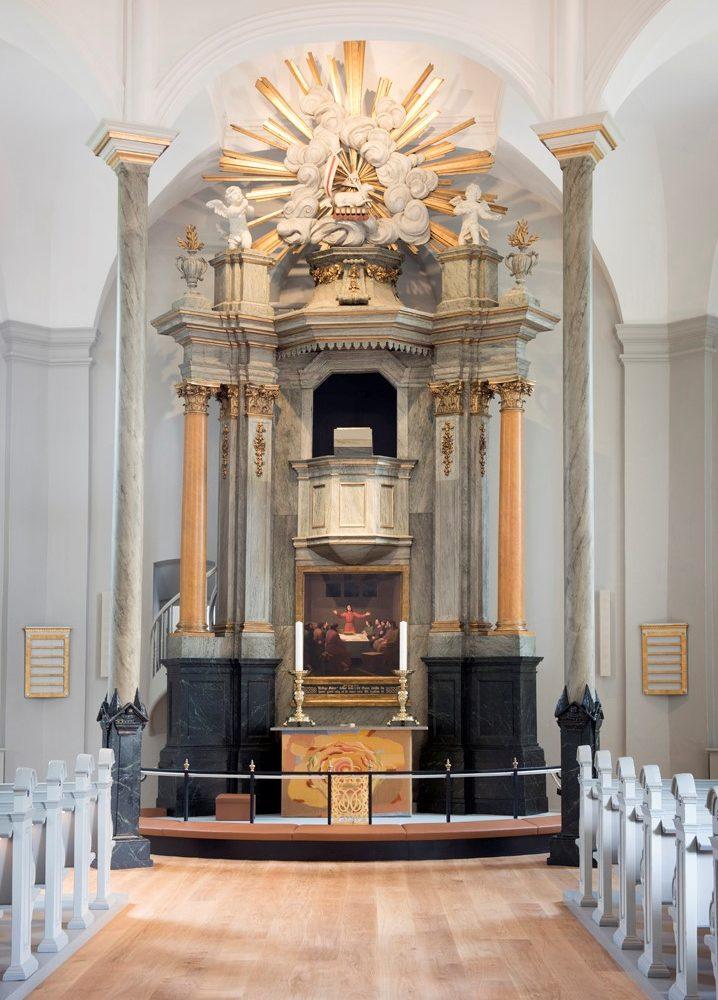 Frederiksberg Kirke prædikestolsalteret