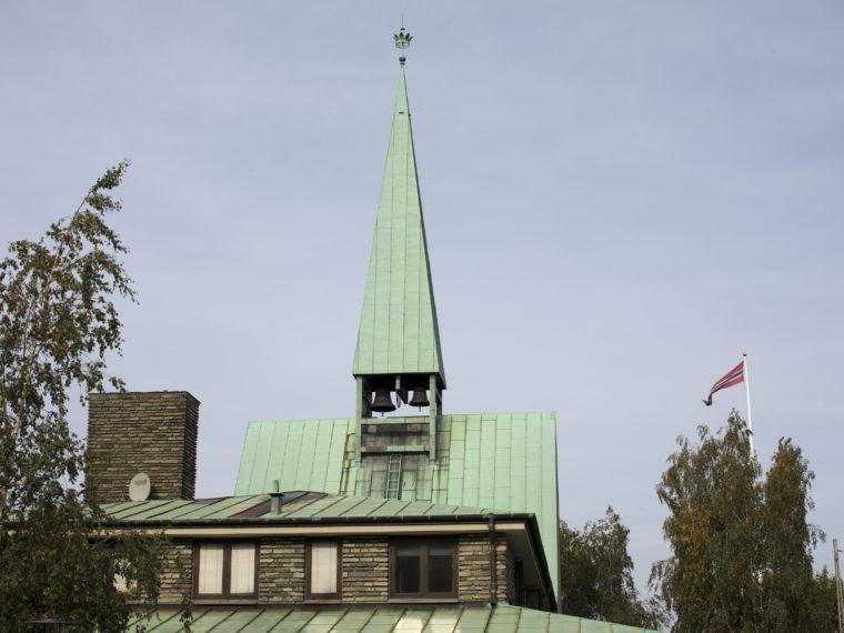 Kong Haakons Kirke København eksteriør