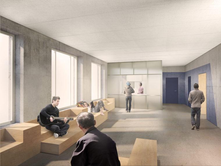 Mændenes Hjem Vesterbo København interiør