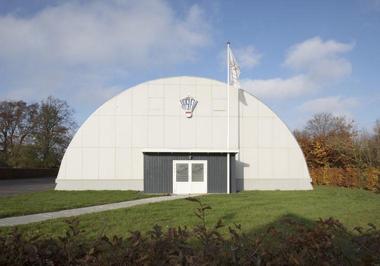 Haslev Hallerne Hal D eksteriør efter restaurering Elgaard Architecture