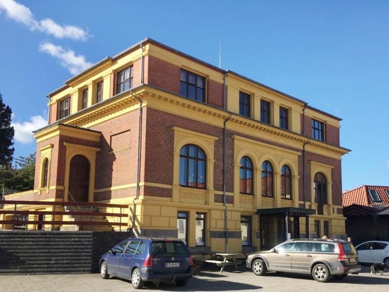 Baagøe & Riber's Site Svendborg villa Elgaard Architecture