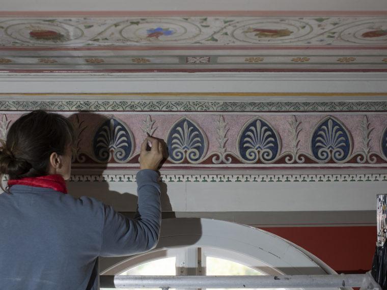 Carlsberg Akademi havestuen konservatorarbejde Elgaard Architecture