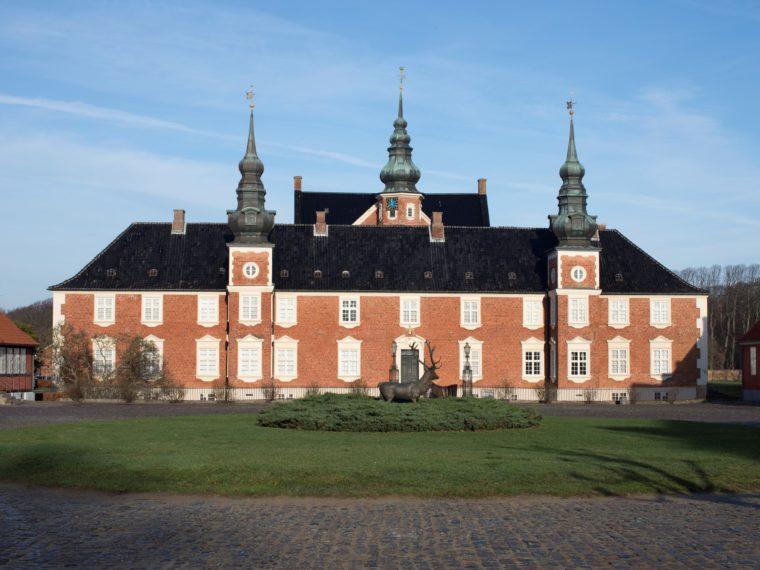Jægerspris Slot gårdsplads eksteriør