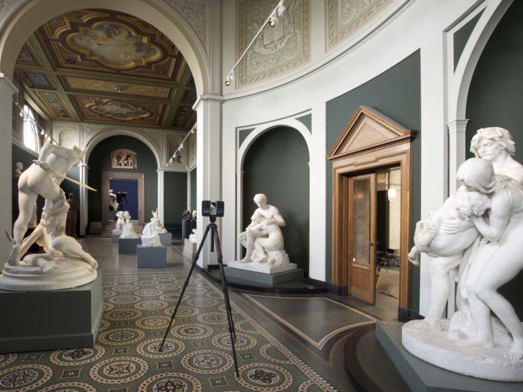 Ny Carlsberg Glyptotek interiør 3D-opmåling