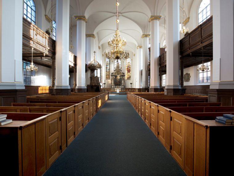 Helligaandskirken København interiør