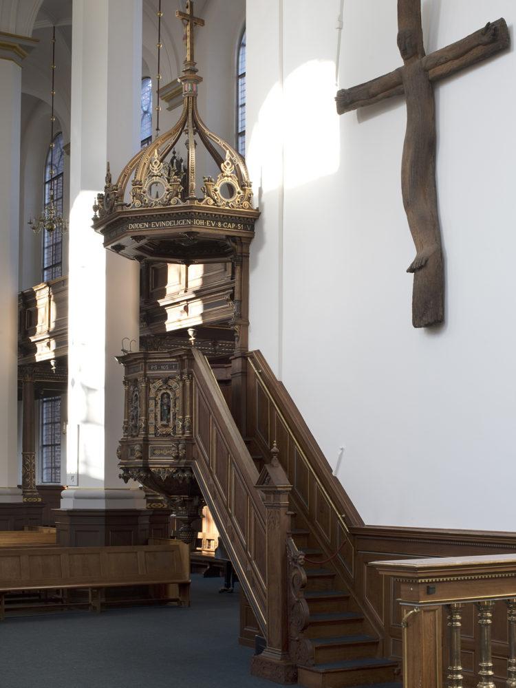 Helligaandskirken København prædikestol