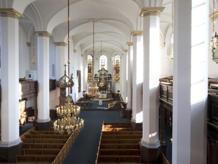 Church of the Holy Spirit Copenhagen interior