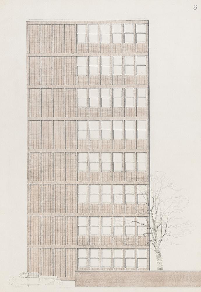 FLSmidth HQ original drawing Elgaard Architecture