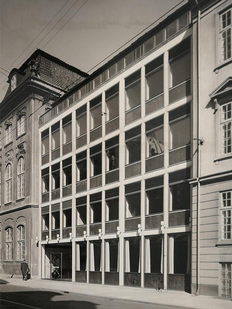 Bredgade 40 historisk foto Elgaard Architecture