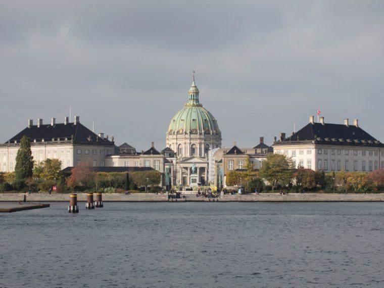Amalienborg Slot eksteriør