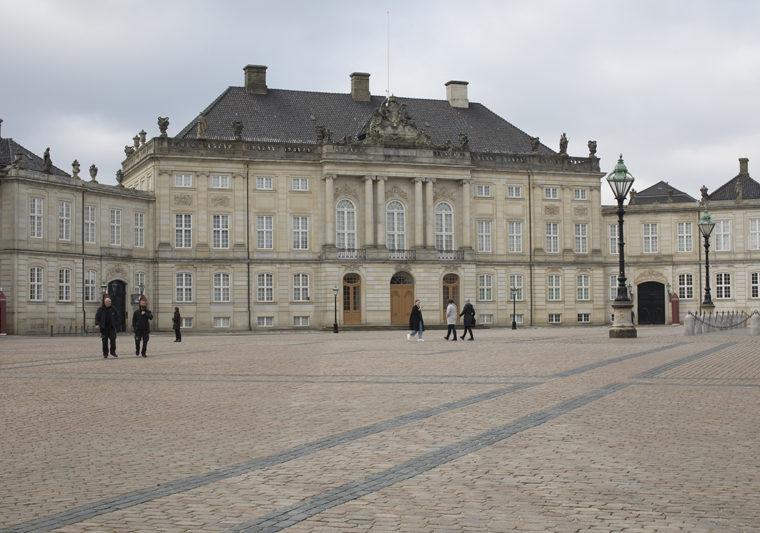 Amalienborg Castle exterior