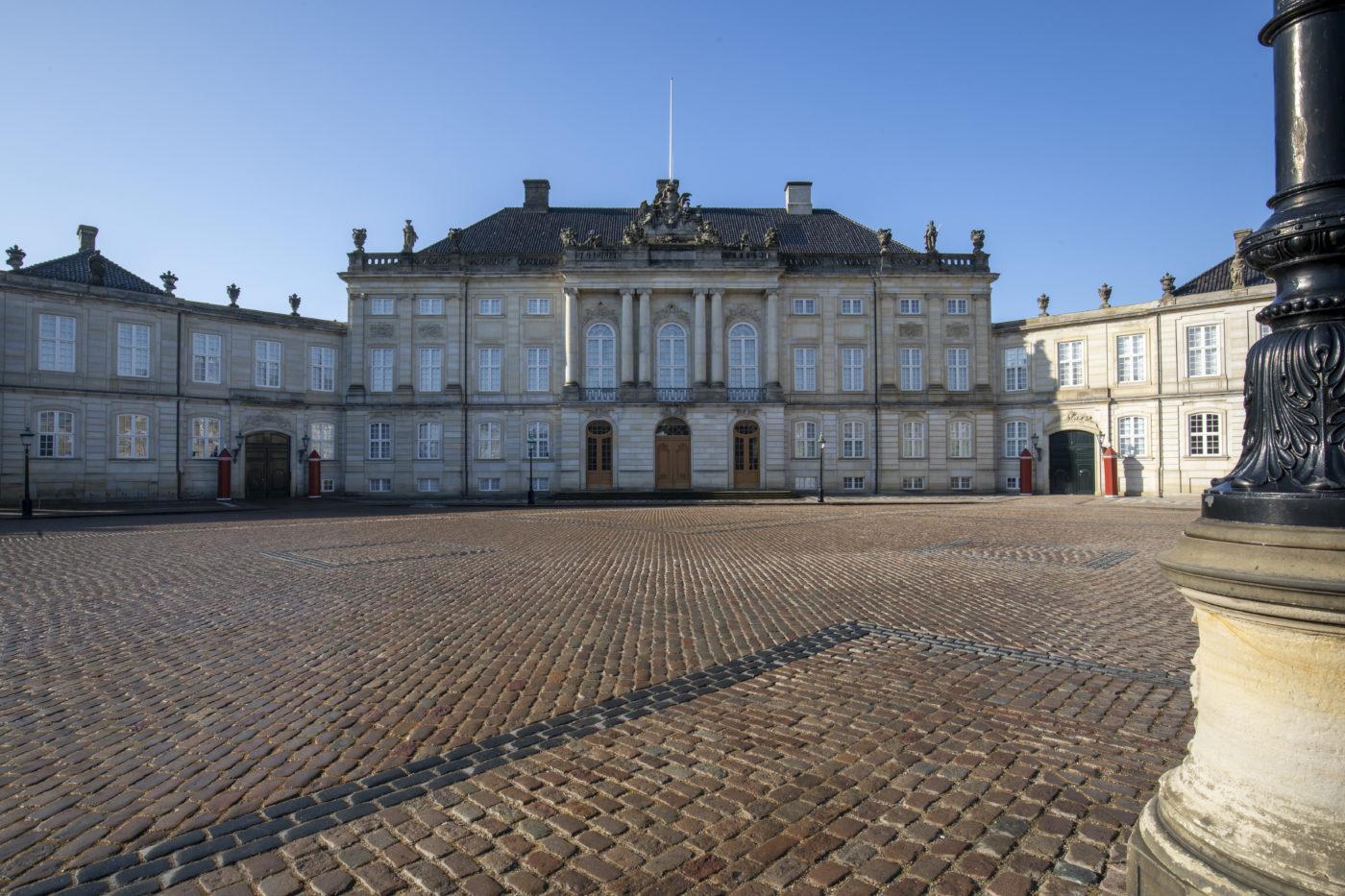Amalienborg Palace exterior