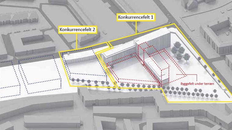 FLSmidth områdeplan illustration Elgaard Architecture