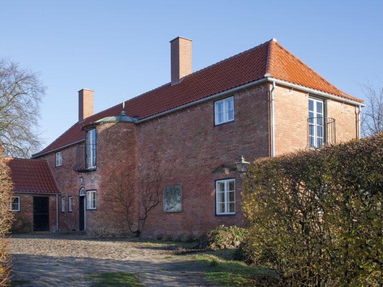 Villa Højgaard Snekkersten exterior after restoration Elgaard Architecture
