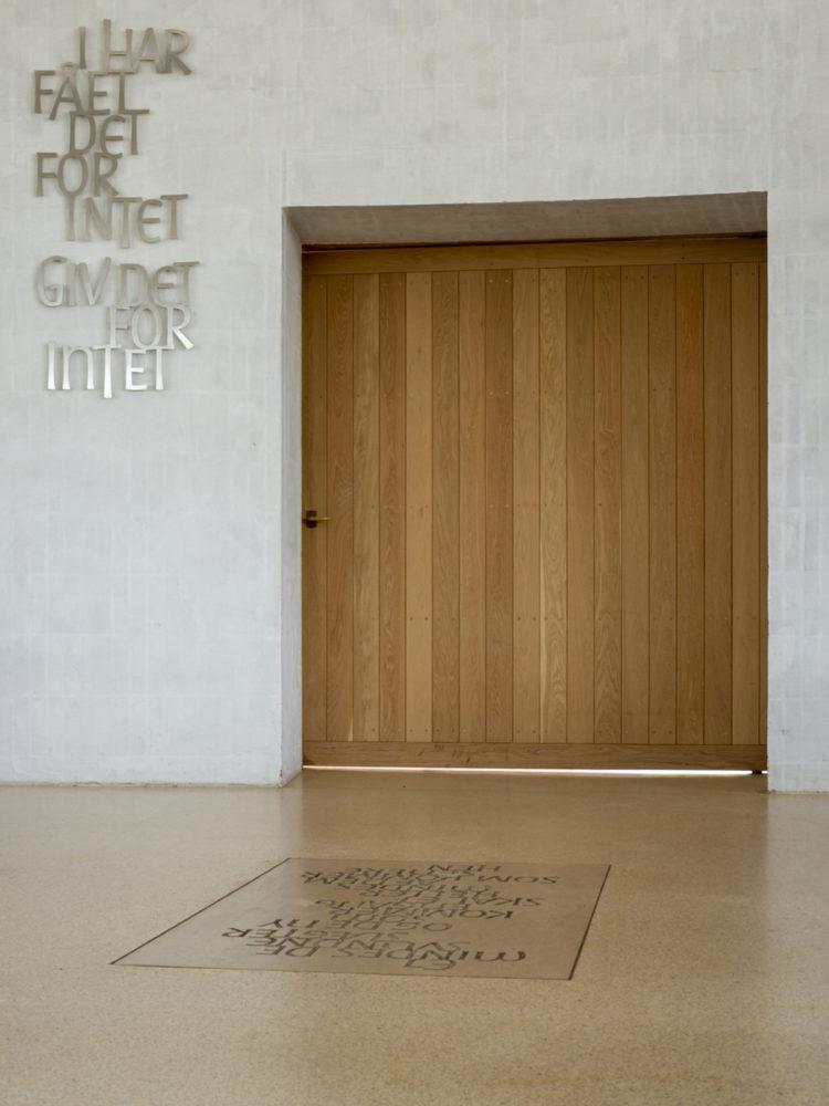 Helligtrekongers Church Vallensbæk interior