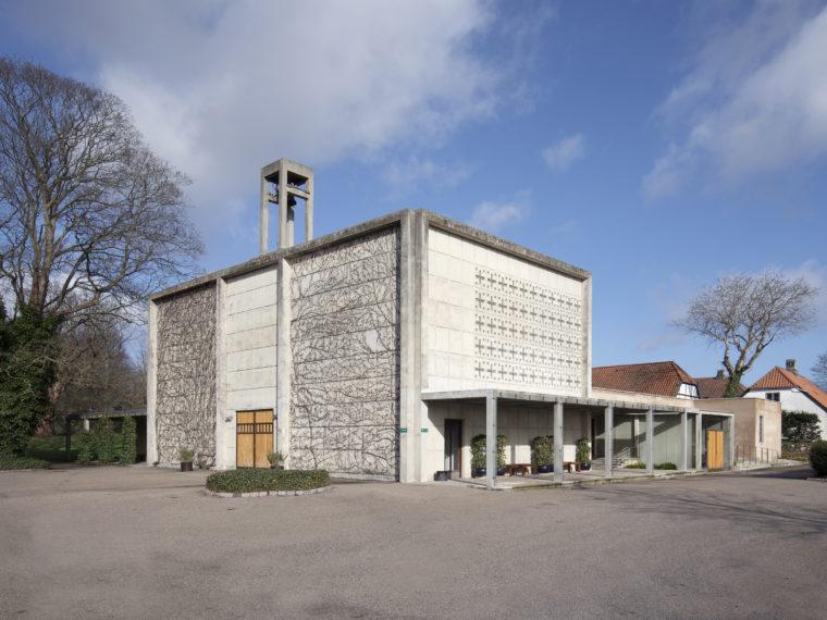 Mariebjerg Chapel Gentofte exterior Elgaard Architecture