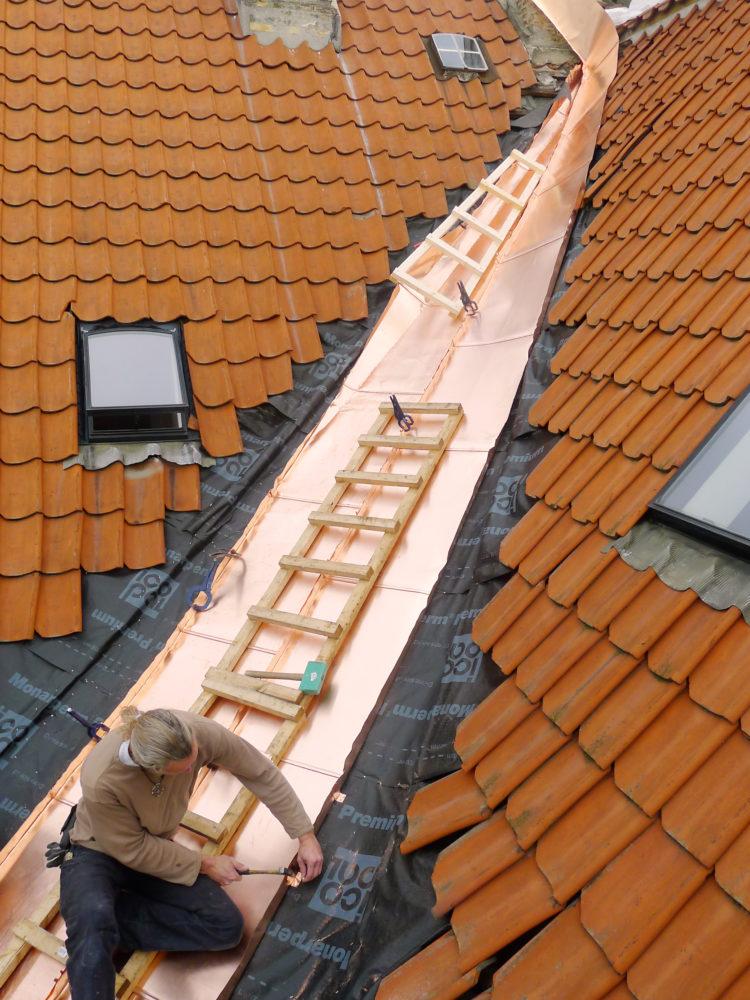 The New Carlsberg Foundation roof repairs Elgaard Architecture