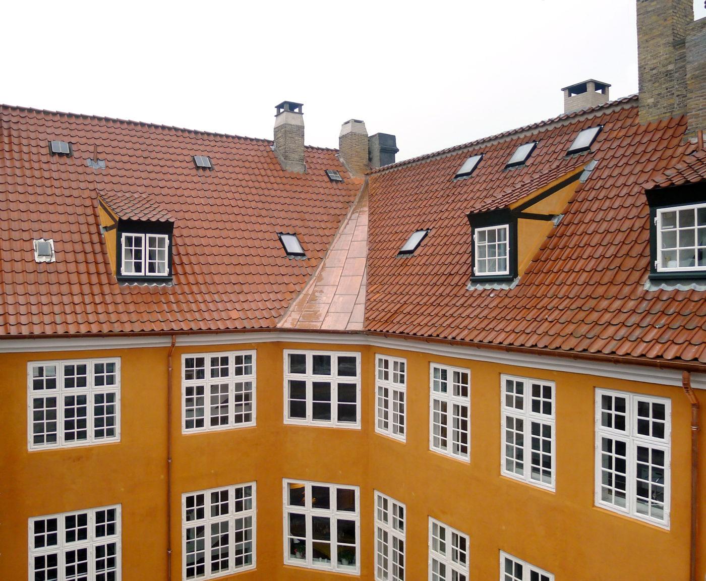 Ny Carlsbergfondet vinduer og tag restaurering