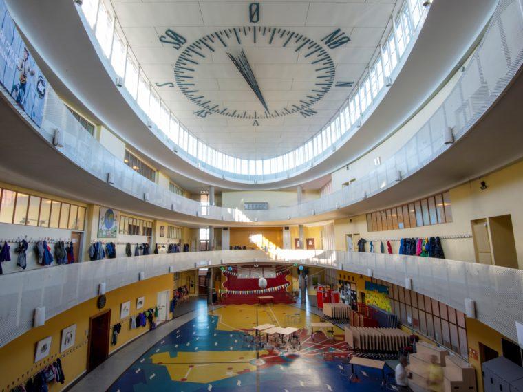 Skolen ved Sundet interiør