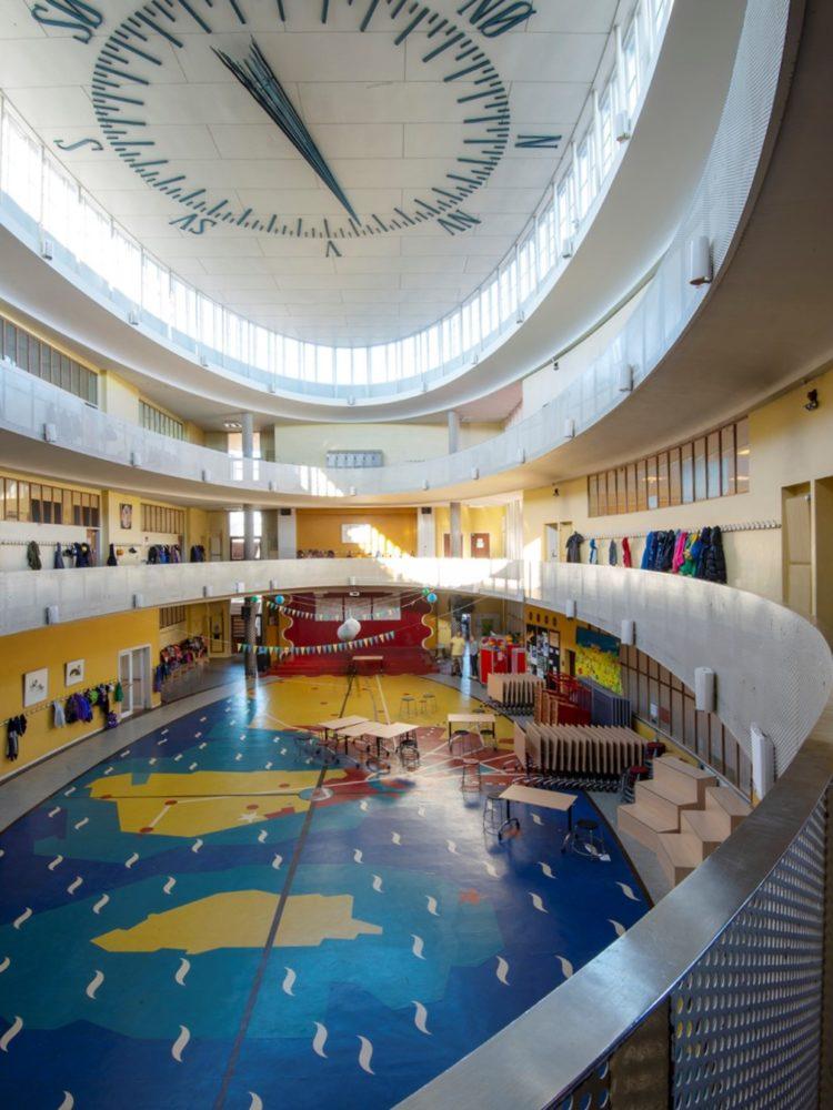 Skolen ved Sundet interiør Elgaard Architecture
