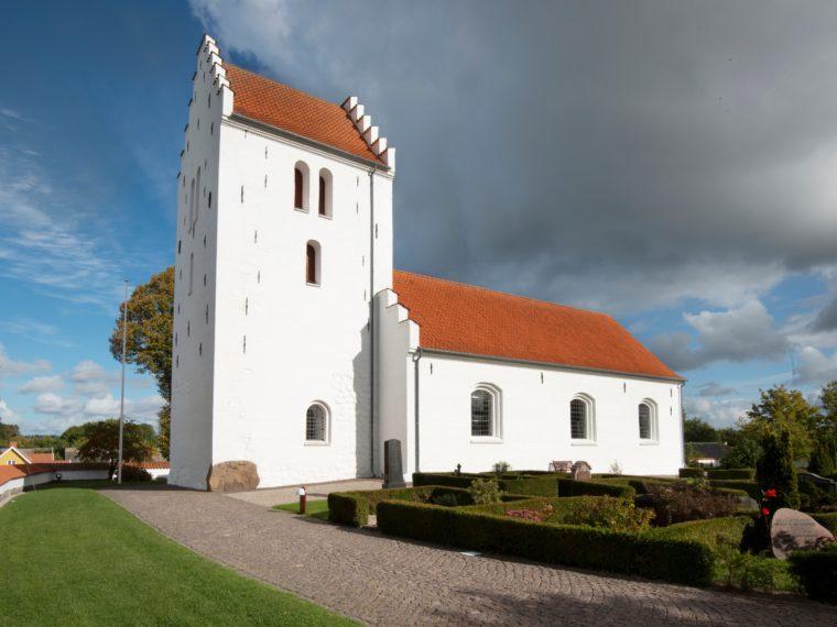 Gerlev Kirke Frederikssund eksteriør