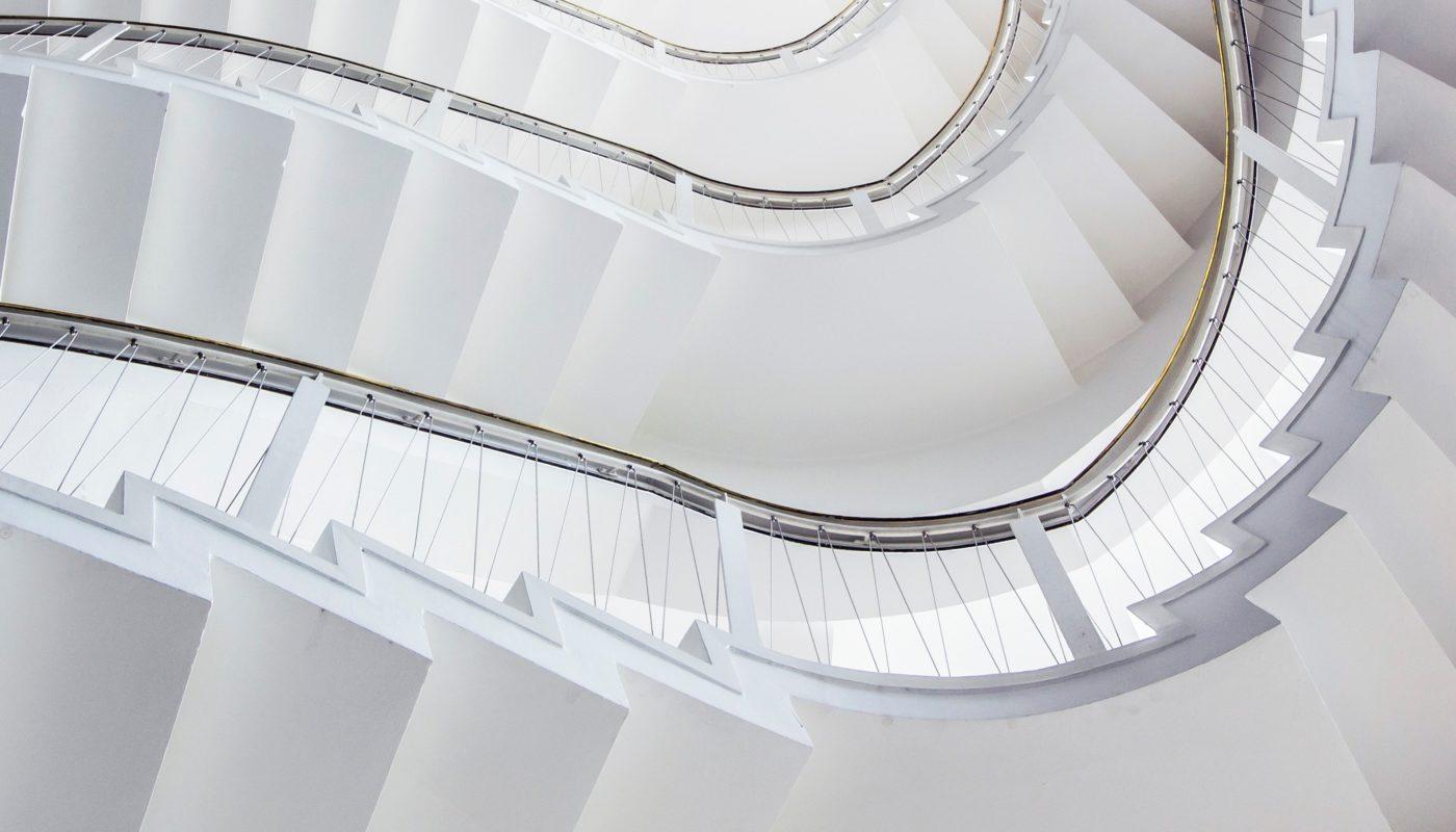 Lyngby Rådhus trappe
