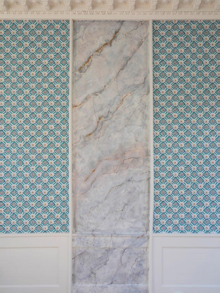 Fasangården wallpaper detail