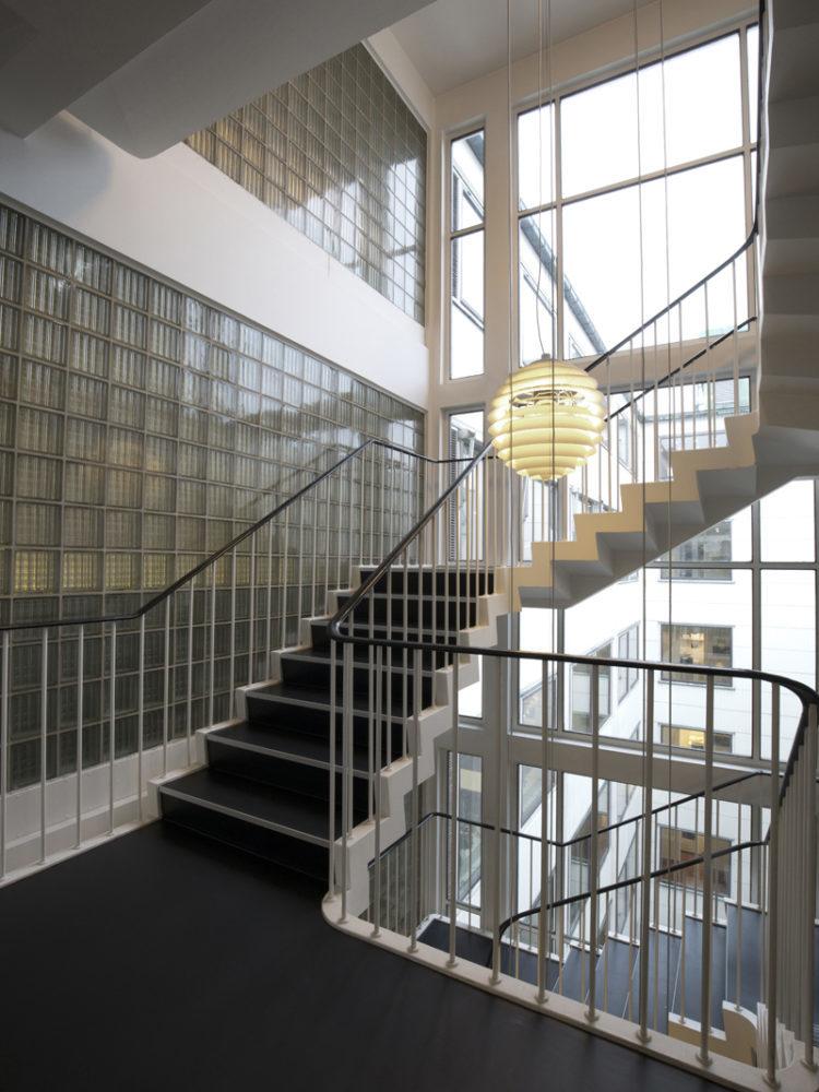 Bredgade 40 Copenhagen staircase Elgaard Architecture