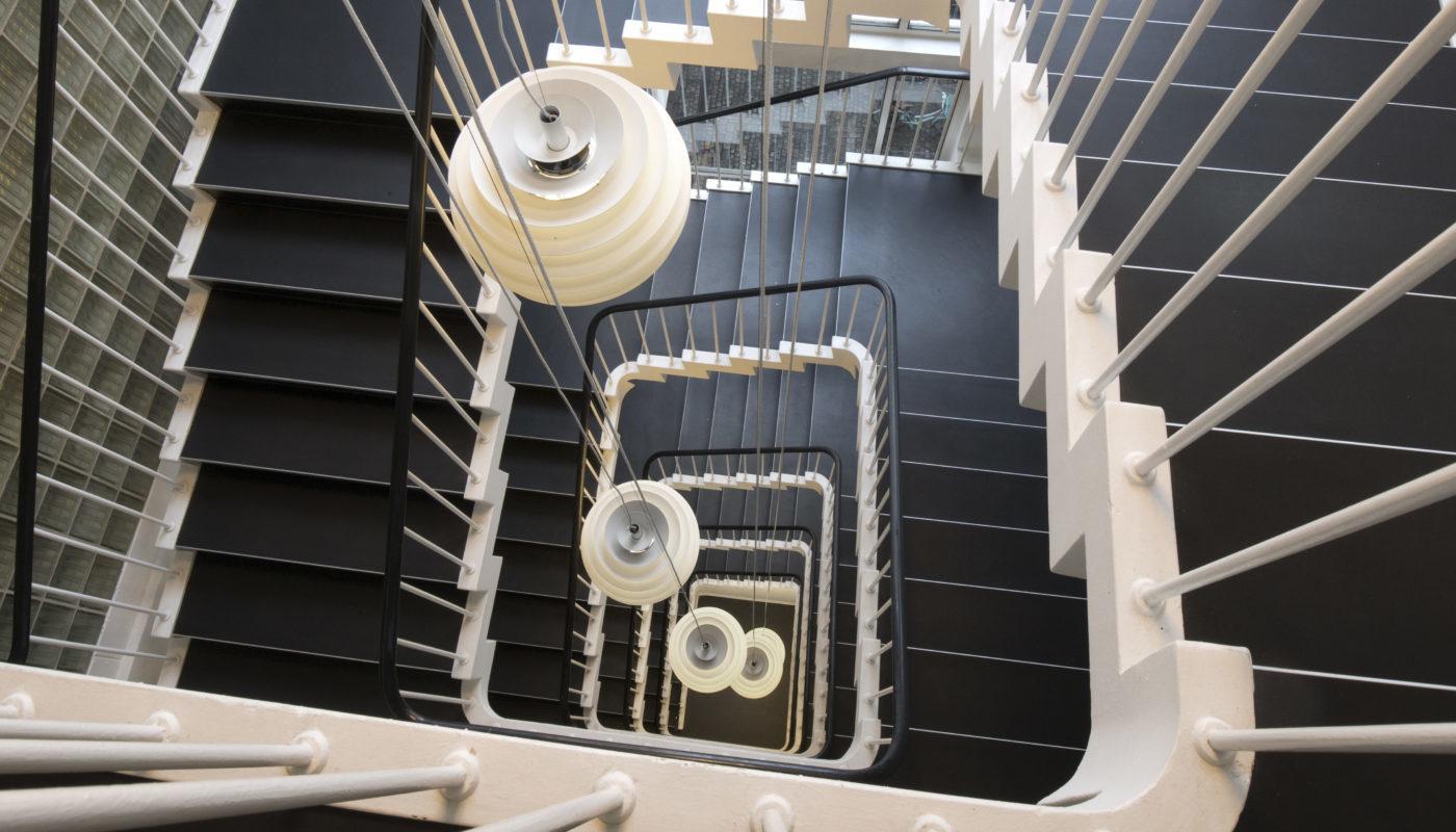 Bredgade 40 Copenhagen Svenn Eske Kristensen staircase Elgaard Architecture