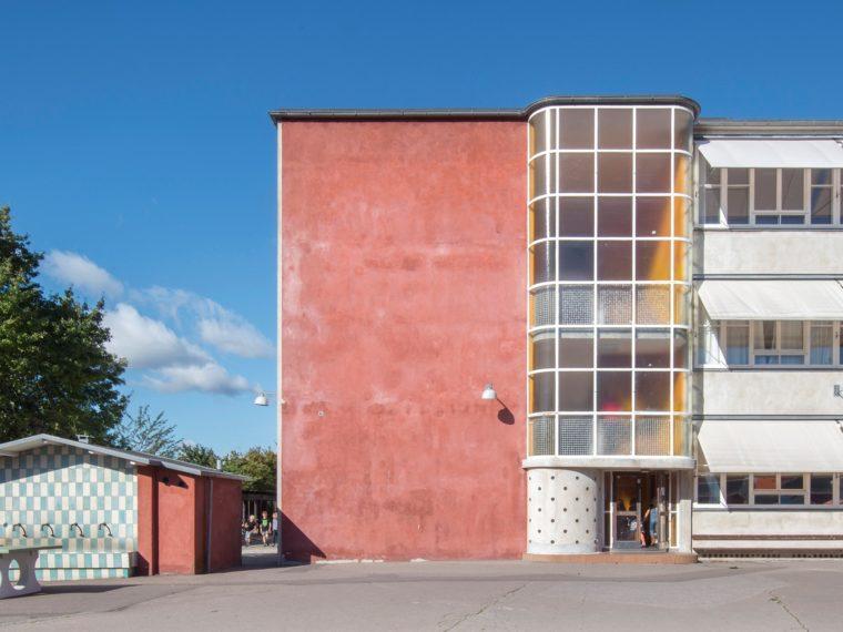 Skolen ved Sundet eksteriør Elgaard Architecture
