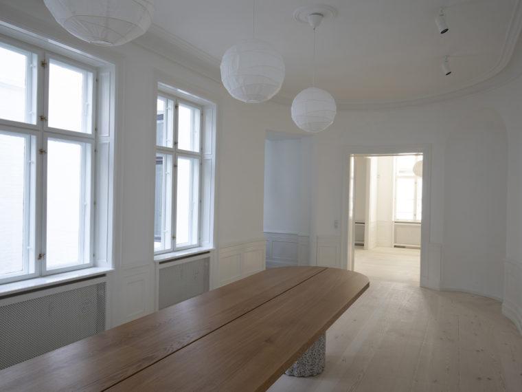 Frederiksgade 11 Copenhagen interior after restoration Elgaard Architecture
