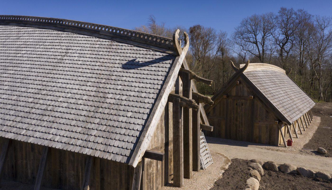 Sagnlandet Lejre kongehal og Hirdens Hus Elgaard Architecture