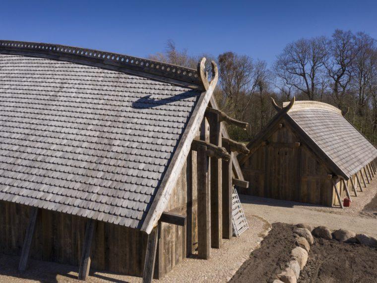 Sagnlandet Lejre kongehal og Hirdens Hus