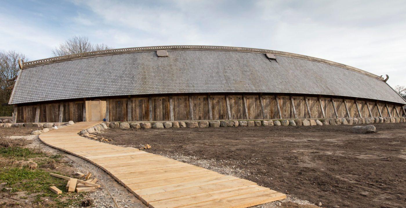 Sagnlandet Lejre kongehallen eksteriør Elgaard Architecture