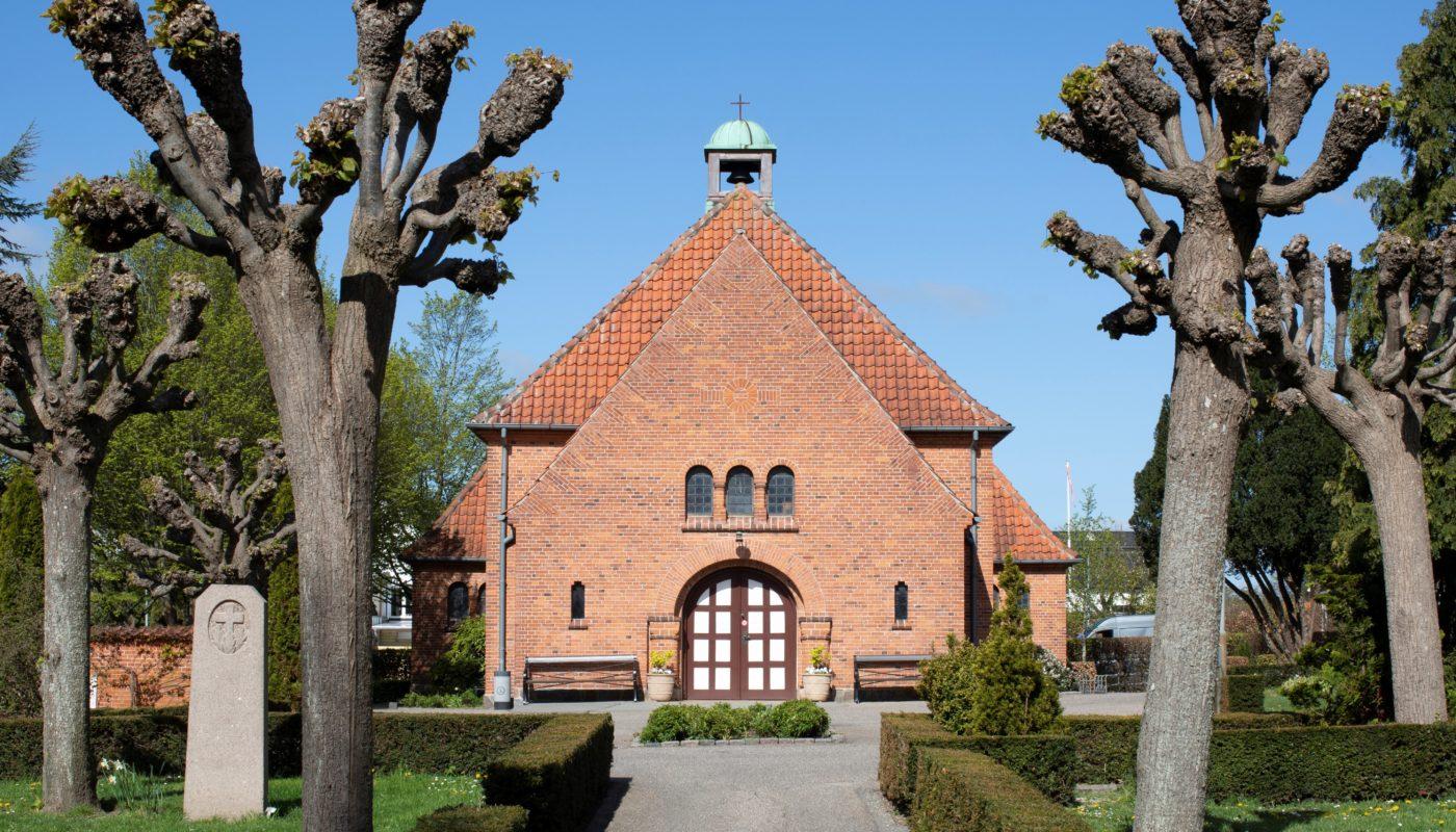 Nyhuse Chapel exterior Elgaard Architecture