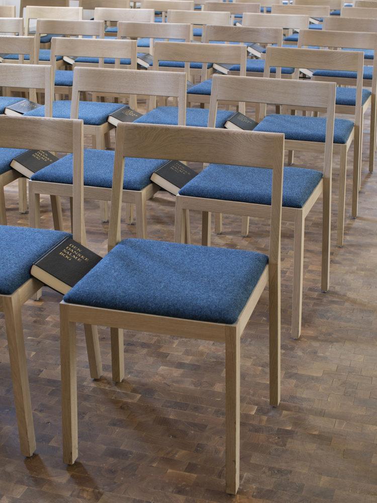 Nyhuse Kapel kirkestole Elgaard Architecture