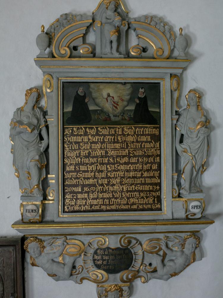 Epitaph Gladsaxe Church